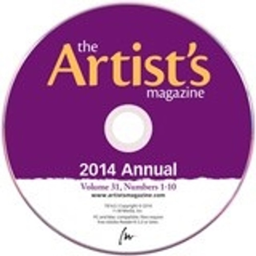 The Artist's Magazine 2014 Annual CD 10 Issues
