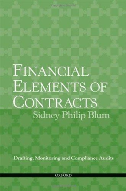 Financial Elements of Contracts Sidney Blum