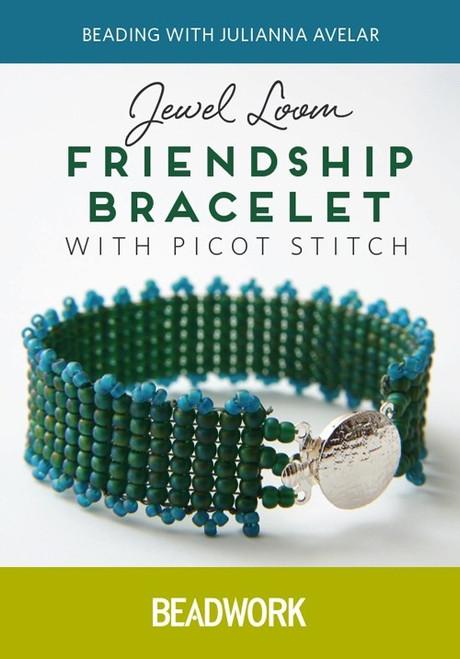 Jewel Loom Friendship Bracelet with Picot Stitch - Julianna Avelar - DVD (9781632504395)