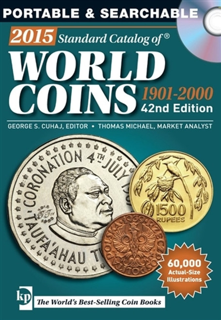 2015 Standard Catalog of World Coins 1901-2000 George S. Cuhaj CD