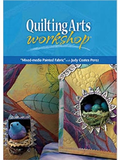 Mixed-Media Painted Fabric With Judy Coates Perez DVD