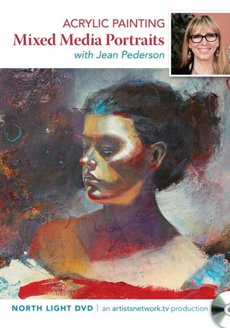 Acrylic Painting Mixed Media Portraits with Jean Pederson DVD