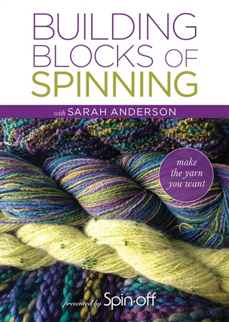 Building Blocks of Spinning with Sarah Anderson DVD