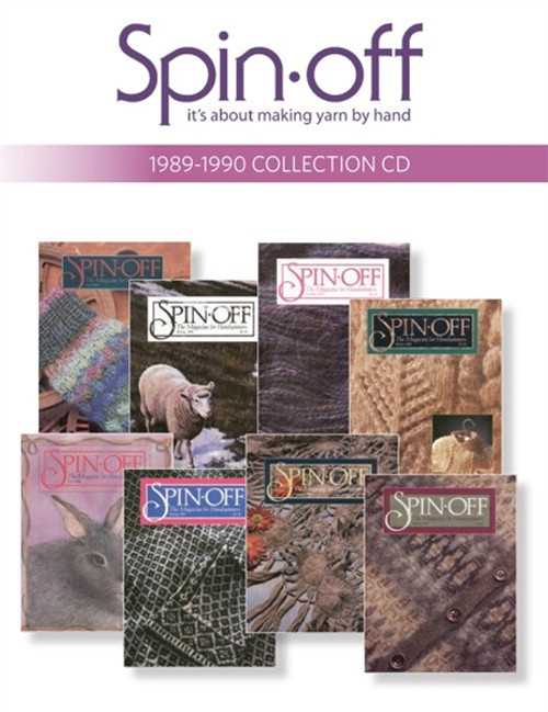 Spin-Off Magazine 1989-1990 Collection CD 8 Issues