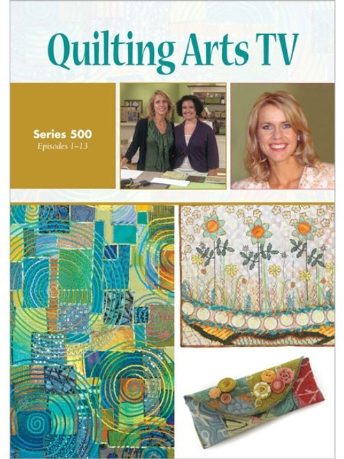 Quilting Arts TV Series 500 with Patricia Pokey Bolton DVD