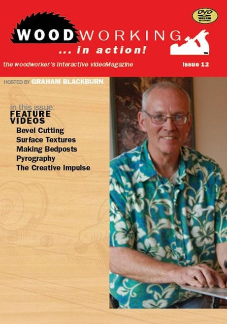 Woodworking in Action Volume 12 with Graham Blackburn DVD
