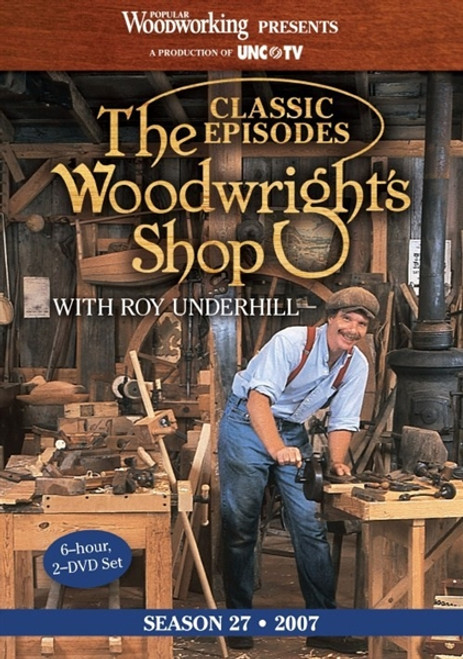 The Woodwright's Shop with Roy Underhill Season 27 DVD