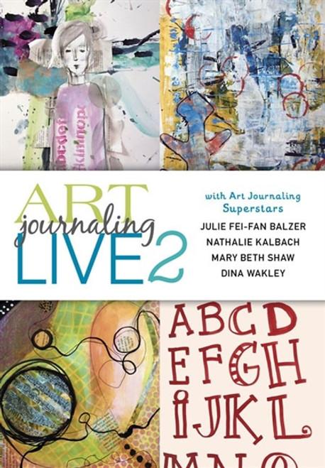 Art Journaling Live 2 - Top Mixed-Media Artists DVD