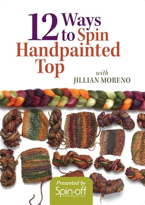 12 Ways to Spin Handpainted Top with Jillian Moreno DVD