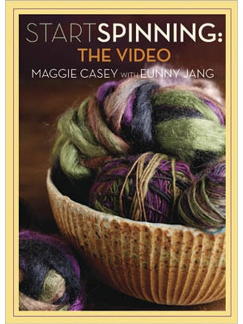 Start Spinning - The Video with Maggie Casey & Eunny Jang DVD