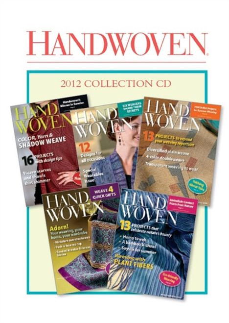 Handwoven Magazine 2012 Collection CD 5 Issues