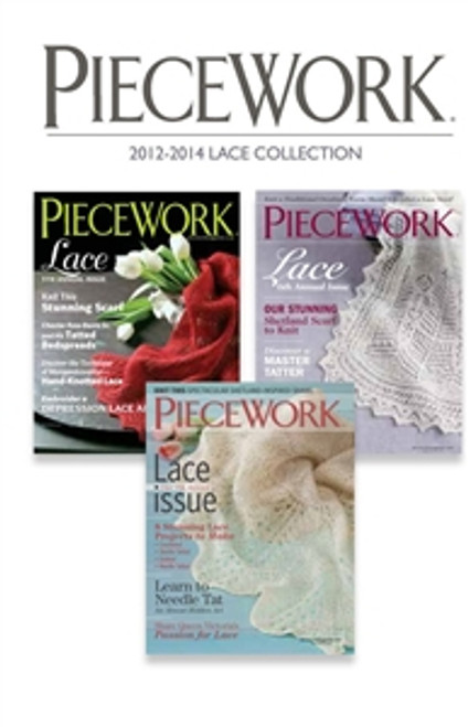 PieceWork Magazine 2012-2014 Collection CD 3 Issues