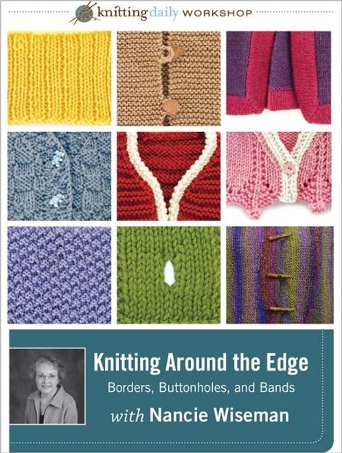 Knitting Around the Edge with Nancie Wiseman DVD