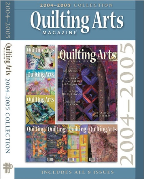 Quilting Arts Magazine 2004-2005 Collection CD 8 Issues