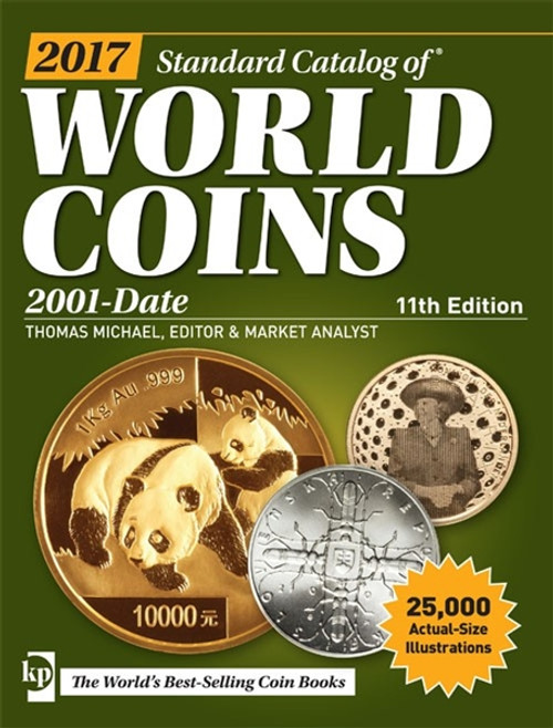 2017 Standard Catalog of World Coins 2001-Date By Thomas Michael CD 11th Edition