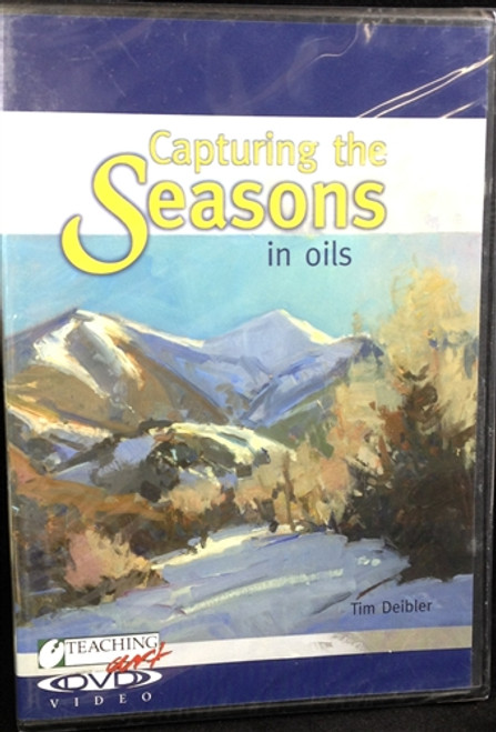 Capturing The Seasons in Oils With Tim Deibler DVD Teaching Art