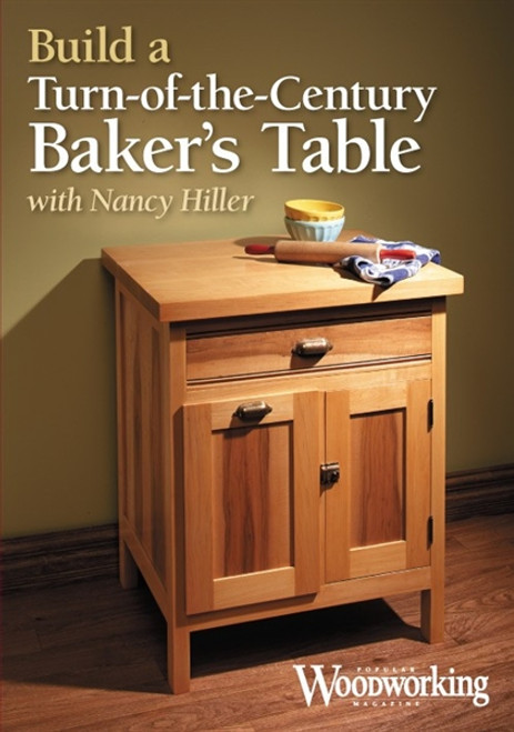 Build a Turn-of-the-Century Baker's Table with Nancy Hiller DVD