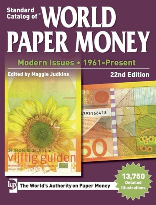 Standard Catalog of World Paper Money - Modern Issues By Maggie Judkins CD 22nd Edition