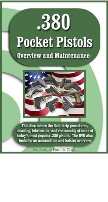 .380 Pocket Pistols Overview & Maintenance DVD