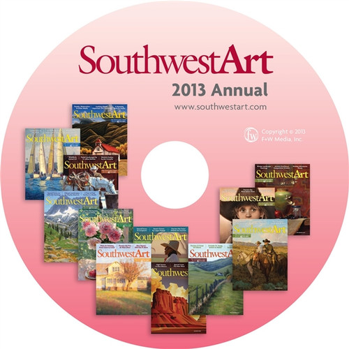 Southwest Art Magazine 2013 Annual CD