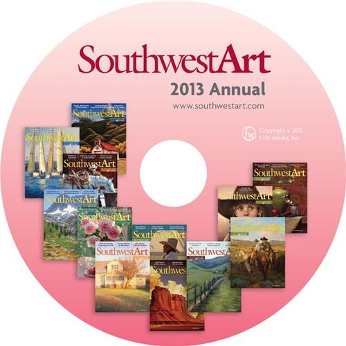 Southwest Art Magazine 2013 Annual CD