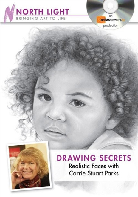 Drawing Secrets Realistic Faces with Carrie Stuart Parks DVD