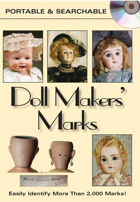 Doll Makers' Marks By Dawn Herlocher CD