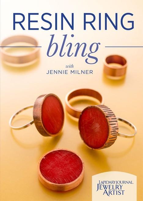 Resin Ring Bling with Jennie Milner DVD