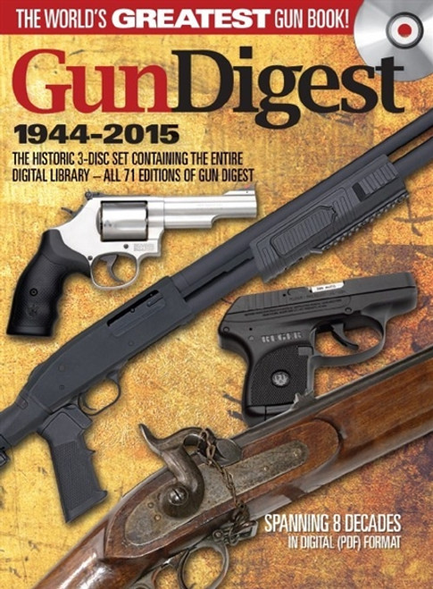 Gun Digest 1944-2015  CD