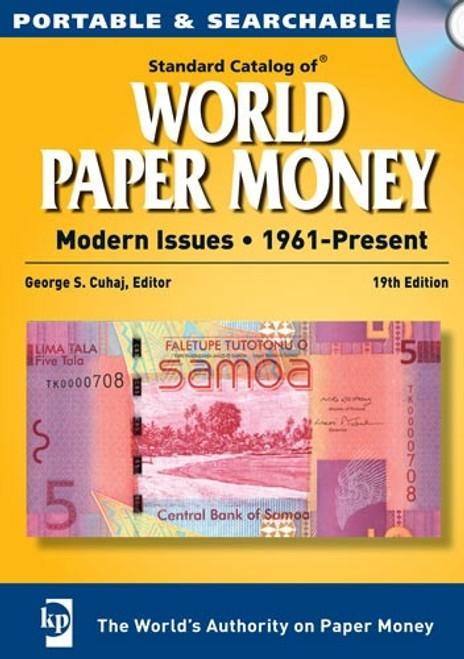 Standard Catalog of World Paper Money - Modern Issues - 1961-Present CD