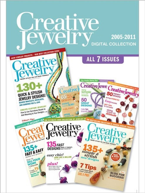 Creative Jewelry Magazine 2005-2011 Collection CD 7 Issues
