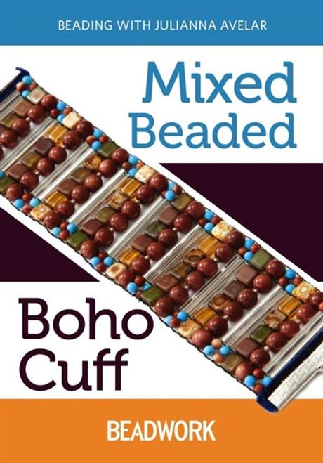 Mixed Beaded Boho Cuff with Julianna Avelar DVD