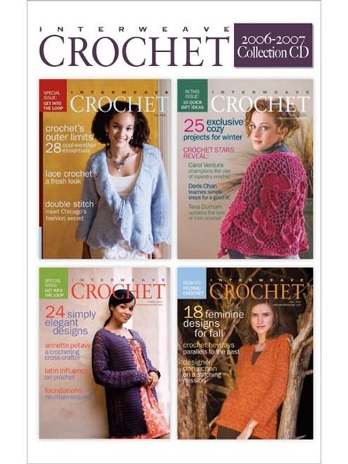 Interweave Crochet Magazine 2006-2007 Collection CD