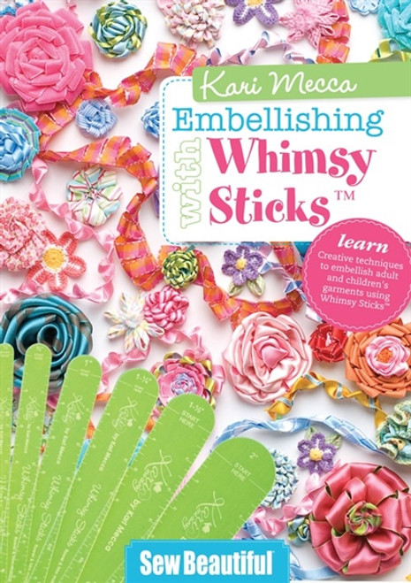 Kari Mecca Embellishing with Whimsy Sticks DVD
