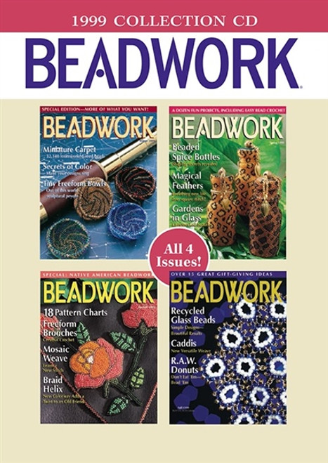 Beadwork Magazine 1999 Collection CD 4 Issues