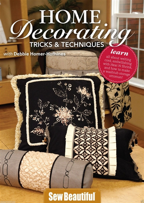 Home Decorating Tricks & Techniques with Debbie Homer-Hofhines DVD