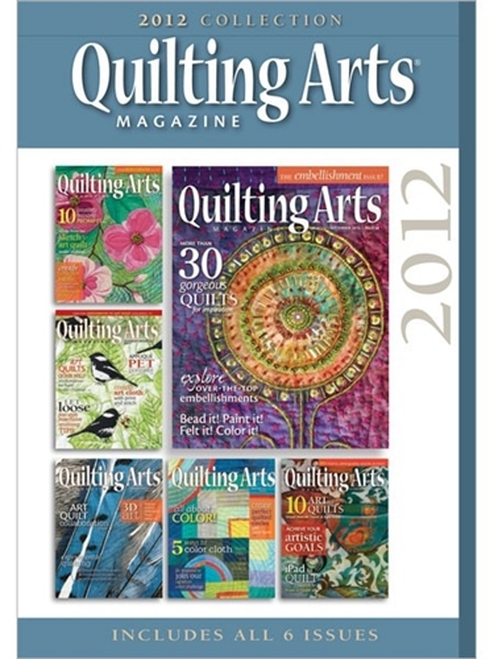 Quilting Arts Magazine 2012 Collection CD 6 Issues