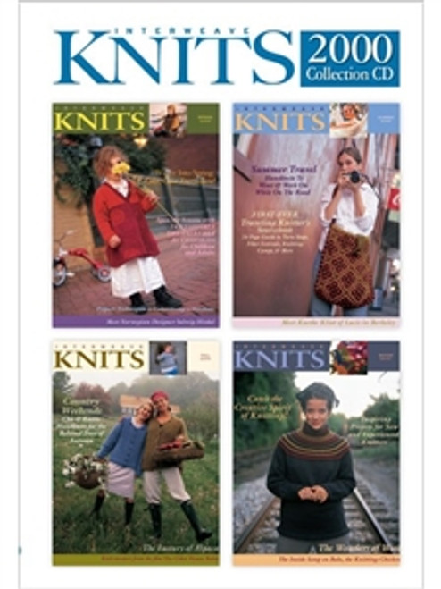Interweave Knits Magazine 2000 Collection CD 4 Issues