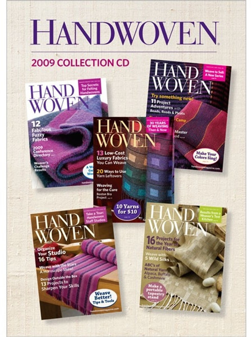 Handwoven Magazine 2009 Collection CD 5 Issues