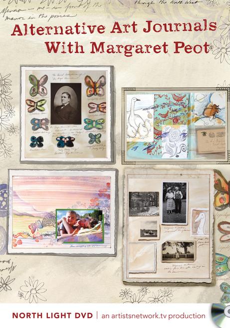 Alternative Art Journals With Margaret Peot DVD (9781440325106)