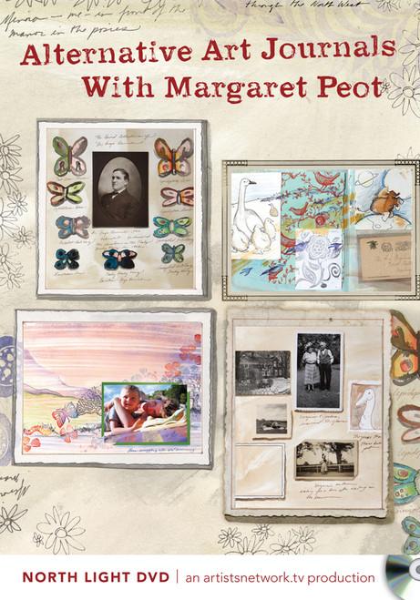 Alternative Art Journals With Margaret Peot DVD (9781440325106)