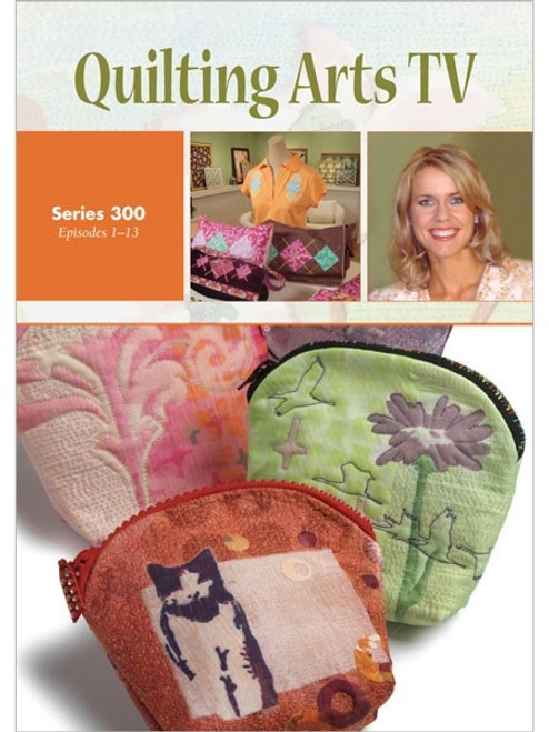 Quilting Arts TV Series 300 with Patricia Pokey Bolton DVD