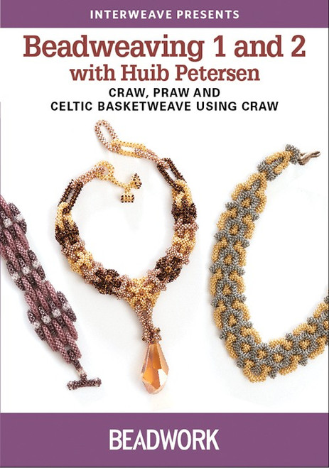 Beadweaving 1 and 2 with Huib Petersen - DVD