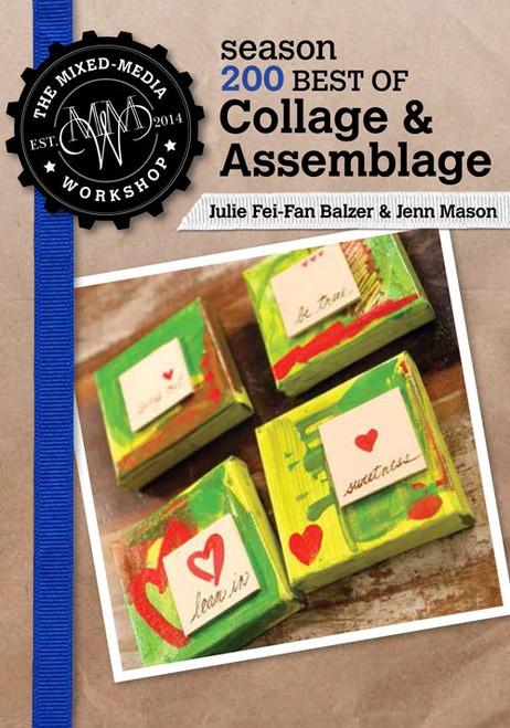 Best of The Mixed-Media Workshop Season 200 with Julie Fei-Fan Balzer & Jenn Mason DVD