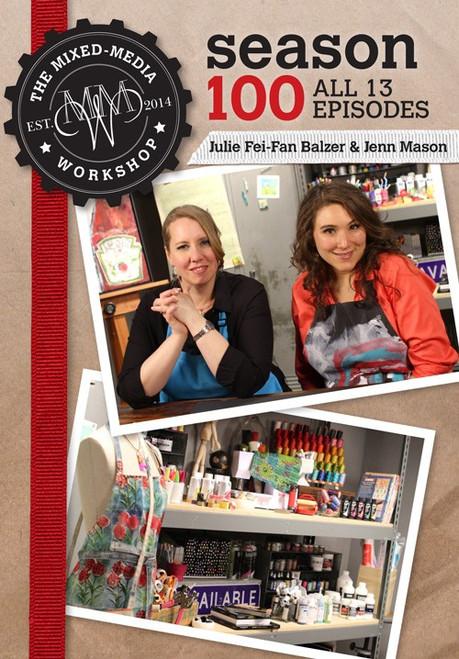 The Mixed-Media Workshop Season 100 with Julie Fei-Fan Balzer and Jenn Mason DVD