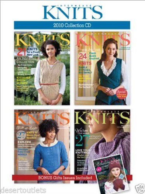 Interweave Knits 2010 Collection CD All Four Issues
