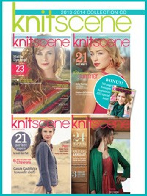 Knitscene 2013-2014 Collection CD 4 Issues