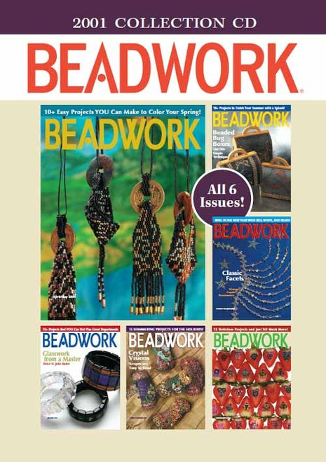 2001 Beadwork Collection CD 6 Issues