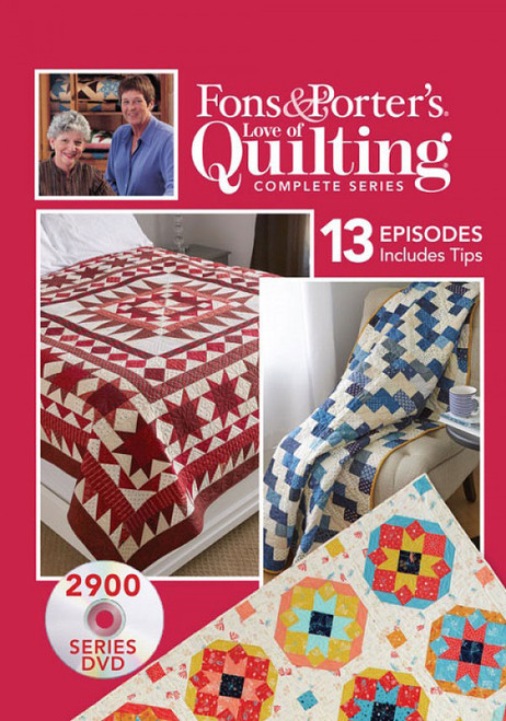 Fons & Porter's Love of Quilting: Complete Series 2900 - DVD