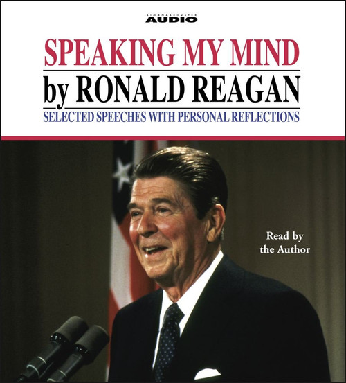 Speaking My Mind by Ronald Reagan Audiobook CD (9780743500333)